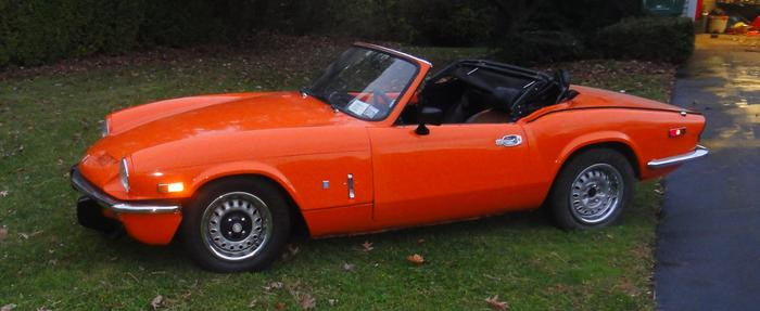1976 triumph spitfire 1500 fm41700u registry the mg experience. Black Bedroom Furniture Sets. Home Design Ideas