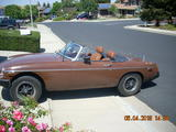 1977 MG MGB Brown Peter Murray