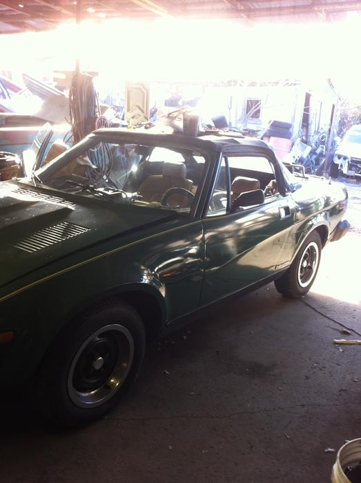 1980 Triumph TR7 Drophead (TCT115814UCF) : Registry : The MG Experience