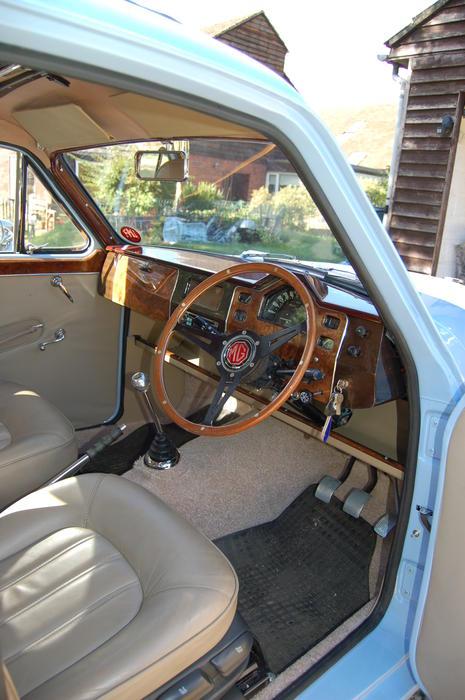 Facet Fuel Pump >> 1957 MG Magnette ZB Varitone (0071957) : Registry : The MG ...