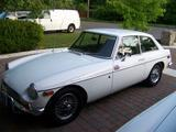 1971 MG MGB GT White GM12 Jim Legg