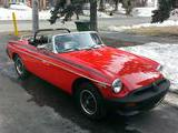 1977 MG MGB Red Michel Joron