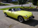 1974 MG MGB Citron Pete Mack