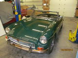 1968 MG MGB British Racing Green Sam Carman