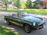 1977 MG MGB Green Dale P