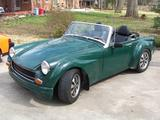 1969 MG Midget Conversion British Racing Green rob roberts