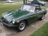 1976 MG MGB Green rod cutler