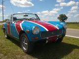 1978 MG Midget 1500 RED WHITE AND BLUE davy s