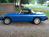 1979 MG MGB French Blue Robert King