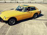 1981 MG MGB GT Inca Yellow Mani B
