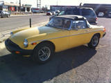 1979 MG MGB Yellow Steve L