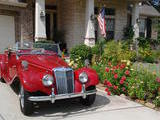 1954 MG TF Fire Engine Red Harvey R