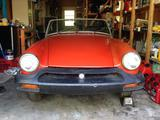1977 MG Midget MkIII Red Jim Ellis