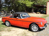 1973 MG MGB RED james ganry