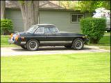 1979 MG MGB Limited Edition LE Black Tom Bondy