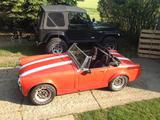 1969 MG Midget MkIII Red Brennan D