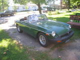 1977 MG MGB Forest Green Gordon N