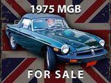 1975 MG MGB Green Mike C