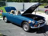 1974 MG MGB Blue Mike Trumbower