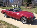 1978 MG MGB Burgundy Mark Osborn