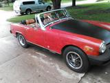 1976 MG Midget 1500 Red Black terry christensen