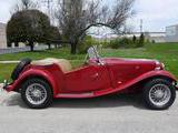 1952 MG TD Red Mark L