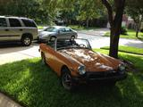 1976 MG Midget MkI Orange Steven O Sullivan
