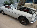 1963 MG MGB Old English White Jim Goodwin