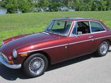 1971 MG MGB GT Maroon Denny Haag