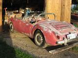 1960 MG MGA 1600 Red George Watson
