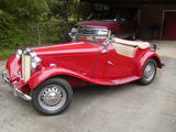 1953 MG TD Red Richard T