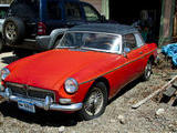 1965 MG MGB Red Michael Orlin