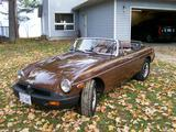 1980 MG MGB Brown Richard Paquette