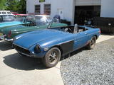 1972 MG MGB Blue Andy Taylor