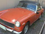 1973 MG Midget MkIII Orange Pete Henderson