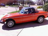 1975 MG MGB MkIII Blaze Red William Scroggins