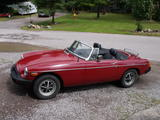 1977 MG MGB Auburn William Morris