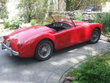 1956 MG MGA Red Chris Darrell