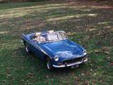 1972 MG MGB BLUE Robert Pearson