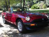1979 MG MGB Red Metallic alan richards