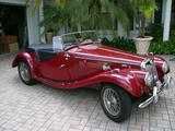1955 MG TF 1500 RED Ian Gail