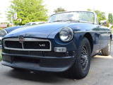 1965 MG MGB V8 Conversion Dark Blue Jake Voelckers