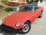 1979 MG MGB Red Paul Williams