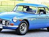 1973 MG MGB Riveria Silver Blue Metalic Peter Dhama
