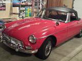 1964 MG MGB MkI Red Jeanne Katz
