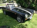 1969 MG Midget Black Garrett Hoehn