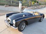 1962 MG MGA MkII Black timothy Trevithick