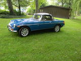 1972 MG MGB BLUE edward aull