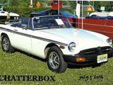 1980 MG MGB White Roger Gengaro