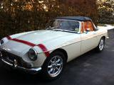 1967 MG MGB Old English White Eric Trogdon